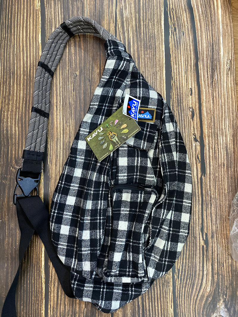 Balo Kavu Plaid Rope Bag Mã BK931 11