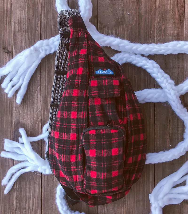 Balo Kavu Plaid Rope Bag Mã BK931 9