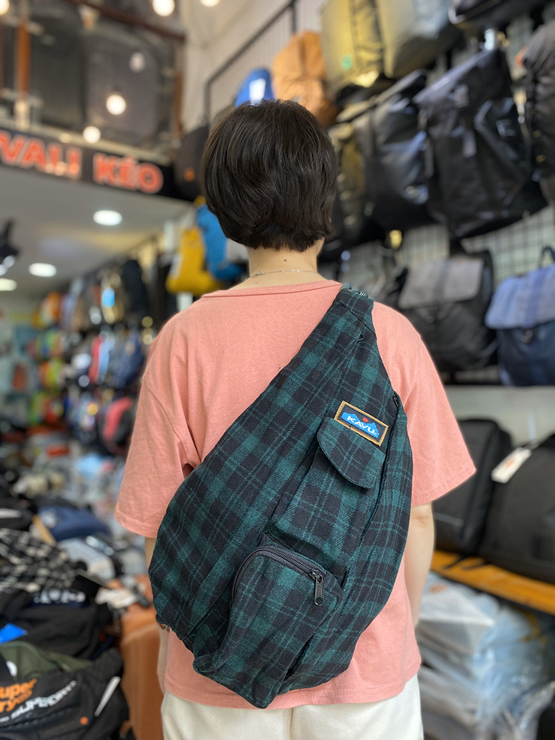 Balo Kavu Plaid Rope Bag Mã BK931 12