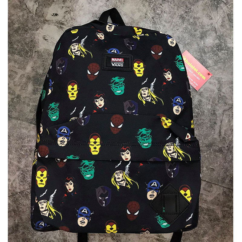 Balo Vans X Marvel Old Skool II Backpack Mã BV944 1