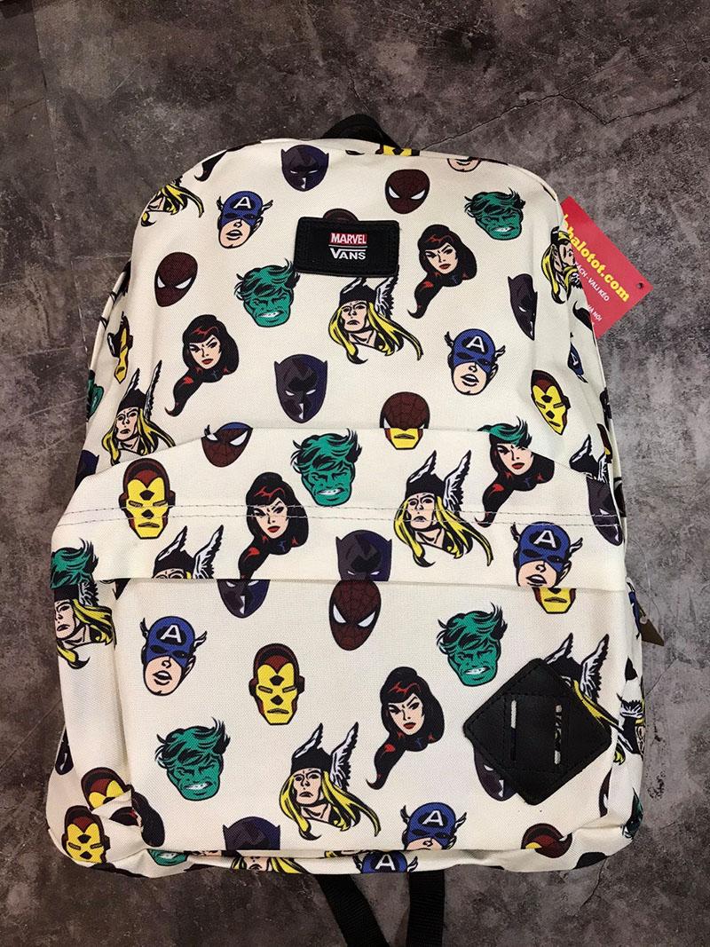 Balo Vans X Marvel Old Skool II Backpack Mã BV944 2