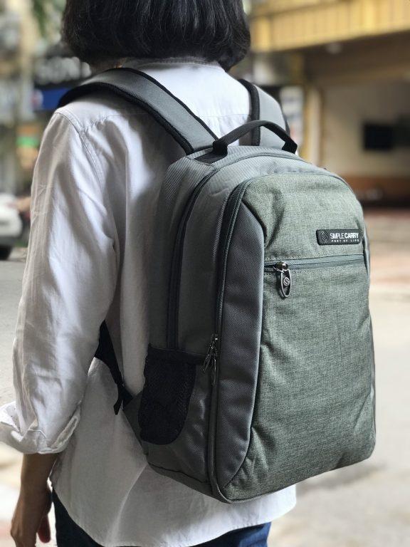3 mẫu balo laptop Simple Carry 14 inch bán chạy nhất tại balotot.com 3