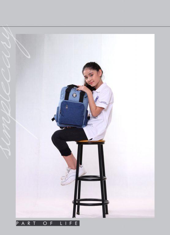 Balo laptop Simple Carry Issac 4 - item nhỏ xinh cho chị em chúng mình 2