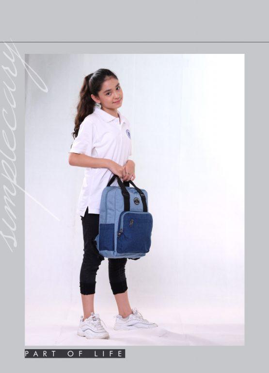 Balo laptop Simple Carry Issac 4 - item nhỏ xinh cho chị em chúng mình 5
