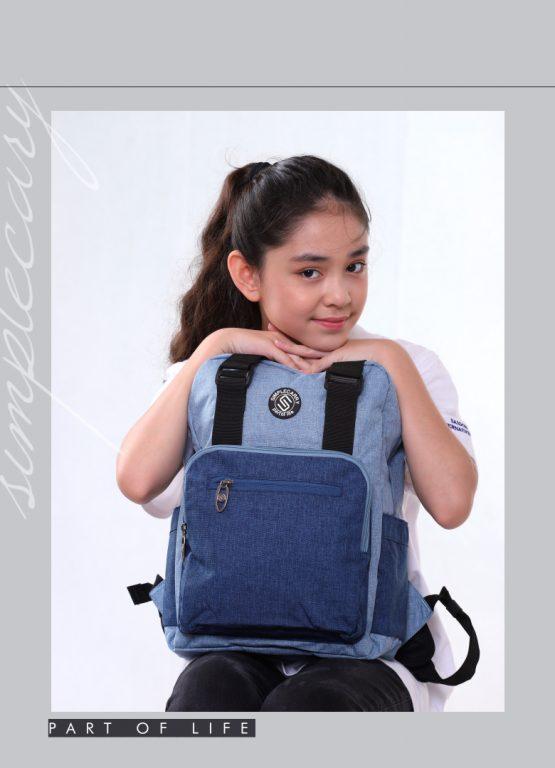 Balo laptop Simple Carry Issac 4 - item nhỏ xinh cho chị em chúng mình 1