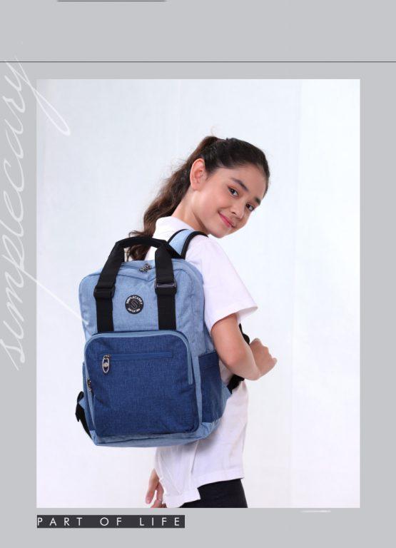 Balo laptop Simple Carry Issac 4 - item nhỏ xinh cho chị em chúng mình 4