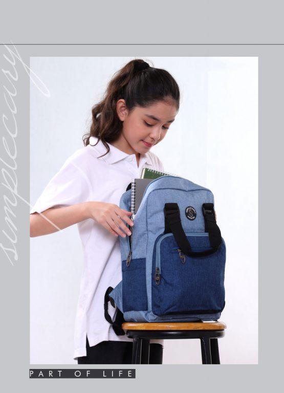 Balo laptop Simple Carry Issac 4 - item nhỏ xinh cho chị em chúng mình 3