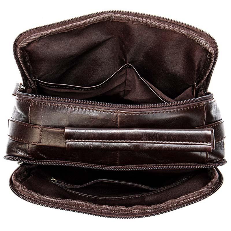 Túi Đeo Chéo Đựng ipad Pro Da Bò Thật Tiện Dụng Mã TD8870 4